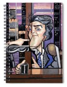 Jay Leno You Been Cubed Spiral Notebook