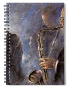 Jazz 01 Spiral Notebook