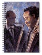 Jazz 02 Spiral Notebook