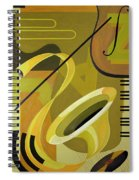 Jazz Spiral Notebook