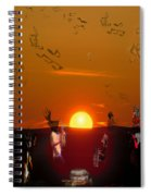 Jazz Fest Spiral Notebook
