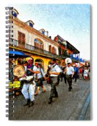 Jazz Funeral II Spiral Notebook