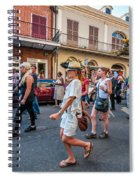 Jazz Funeral...the Second Line 4 Spiral Notebook