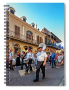 Jazz Funeral...the Second Line   Spiral Notebook