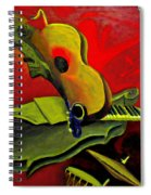 Jazz Infusion Spiral Notebook