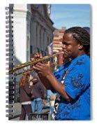 Jazz Man Spiral Notebook