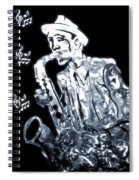 Jazz Notes Spiral Notebook