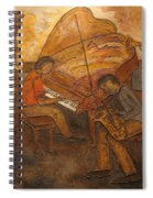 Jazz Quartet Spiral Notebook