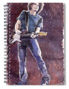 Jazz Rock John Mayer 01 Spiral Notebook