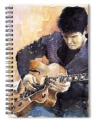 Jazz Rock John Mayer 02 Spiral Notebook