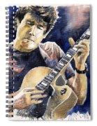 Jazz Rock John Mayer 06 Spiral Notebook
