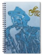 Jazz Saxophone Spiral Notebook