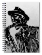 Jazz Saxophone Man Spiral Notebook