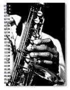 Jazz Saxophonist Spiral Notebook