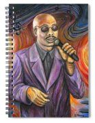 Jazz Singer Spiral Notebook