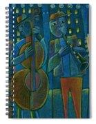 Jazz Time At Club Jazz Spiral Notebook