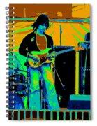 Jb #15 Enhanced In Cosmicolors Crop 2 Spiral Notebook