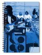 Jb #33 Enhanced In Blue Spiral Notebook