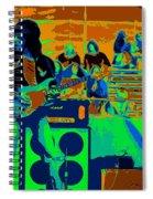 Jb #33 Enhanced In Cosmicolors Spiral Notebook