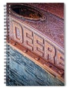 Jd Grille Spiral Notebook