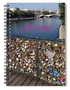 Je T'aime  Spiral Notebook