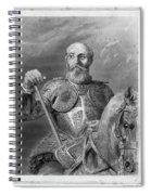 Jean Parisot De La Valette (1494-1568) Spiral Notebook