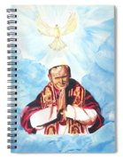 Jean Paul II Spiral Notebook