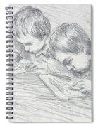 Jean Pierre Hoschede And Michel Monet Spiral Notebook