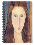 Jeanne Hebuterne Spiral Notebook