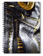 Jeans - Abstract Spiral Notebook