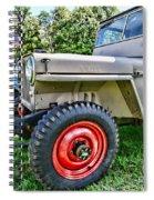 Jeep Willys Ww2 Spiral Notebook