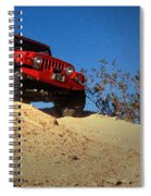 Jeepin' The Mojave Spiral Notebook
