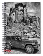 Jeep...it's A State Of Mind Spiral Notebook