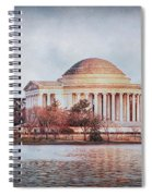 Jefferson Memorial In Dc Spiral Notebook