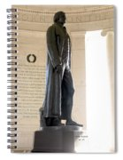 Jefferson Memorial In Washington Dc Spiral Notebook