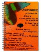 Jefferson Starship Side B Spiral Notebook