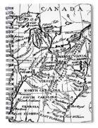 Jefferson: States, 1784 Spiral Notebook