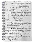 Jefferson: Tombstone Spiral Notebook