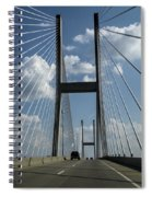 Jekyll Island Cable Bridge Spiral Notebook