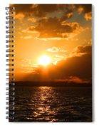 Jekyll Sunset Spiral Notebook