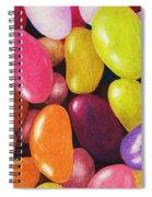Jelly Beans Spiral Notebook