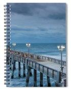 Jennette's Fishing Pier Spiral Notebook