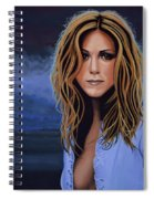 Jennifer Aniston Painting Spiral Notebook