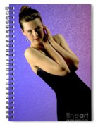 Jennifer Formal Lbd Spiral Notebook