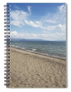 Yellowstone Lake Spiral Notebook