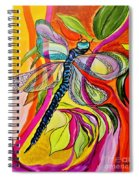 Jenny's Dragonfly In Acrylic Spiral Notebook