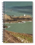 Jerbourg Point On Guernsey - 3 Spiral Notebook