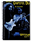 Jerry And Billy At Winterland Spiral Notebook