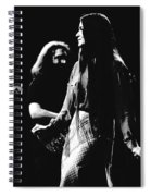 Jerry And Donna Godchaux 1978 Spiral Notebook