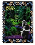 Jerry At Psychedelic Creek Spiral Notebook